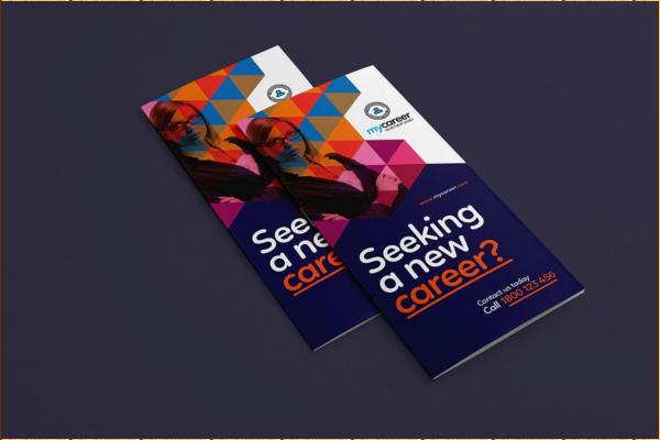 Recruitment Agency Trifold Brochure