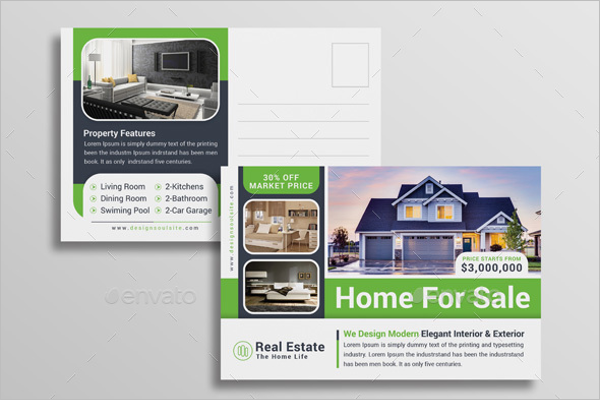 Residential Postcard Template