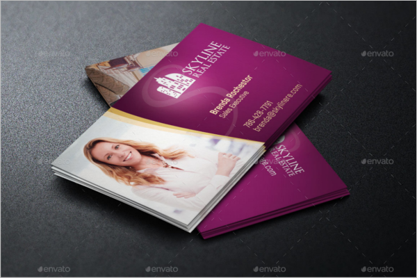 30 real estate business card templates free design ideas real estate business card vector reheart Image collections