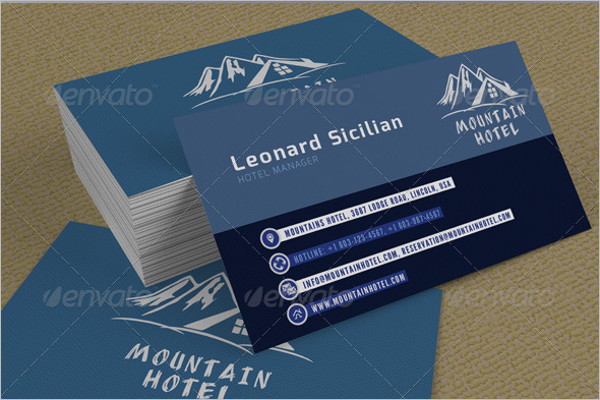 Resort Business Card Designs