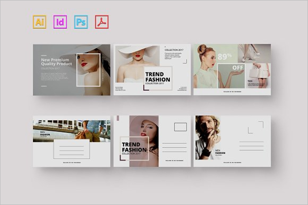 Responsive Beauty Postcard Template