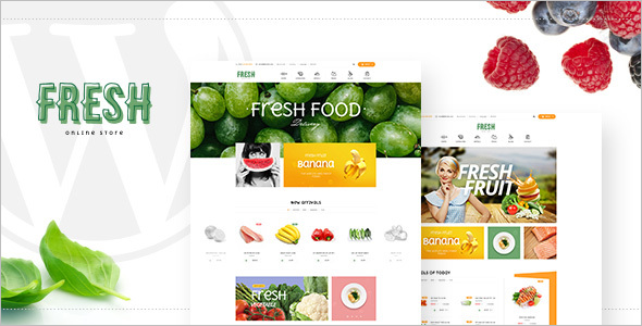 Responsive Food & Restaurant Prestashop Theme
