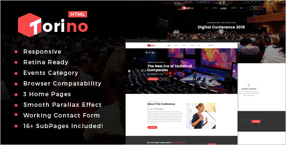 Responsive HTML5 Landing Page Template