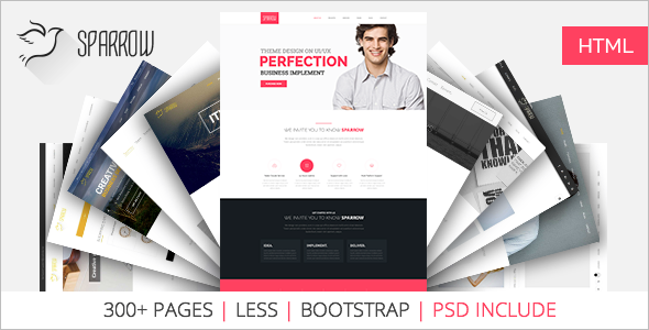 Responsive Landing Page Template