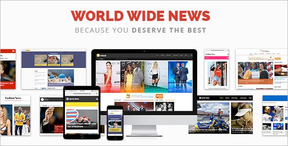 Responsive NewsWordPress Theme
