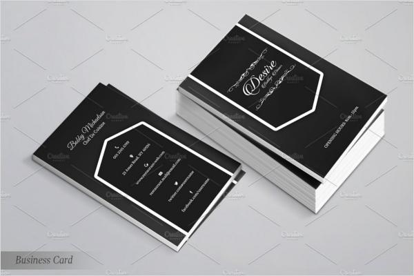Restaurant Business Card Designs