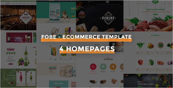 Restaurant PHP eCommerce Template