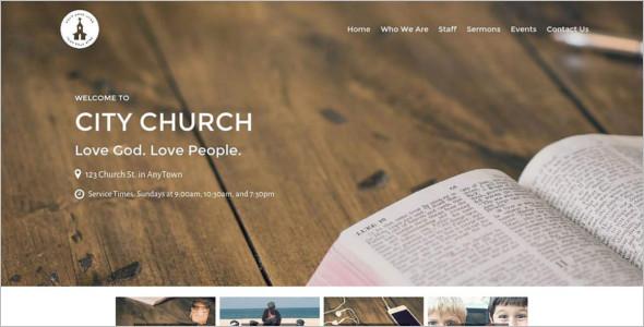 Restore Church WordPress Template