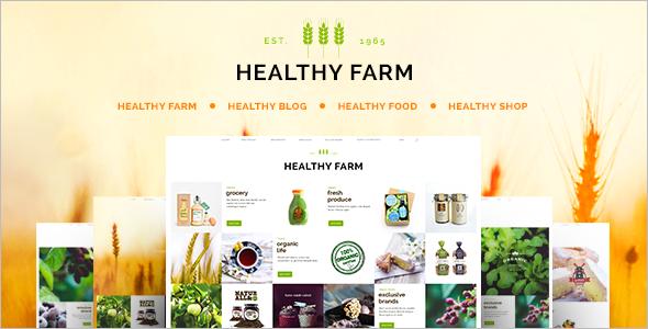 Retail Agriculture WordPress Theme