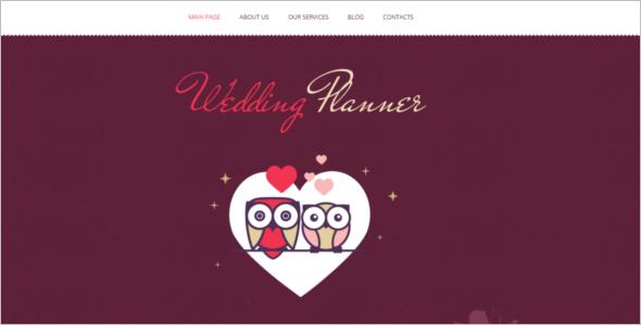 Retro Wedding WordPress Theme