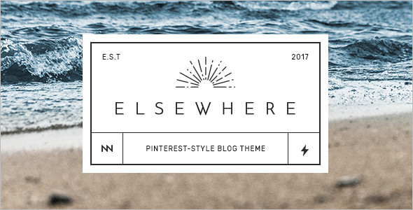 Retro WordPress Blog Theme