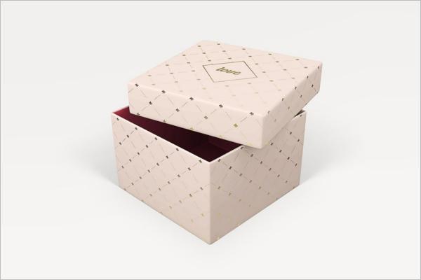 Romantic Gift Box Photoshop Mockup