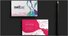 32+ Sample Salon Business Card PSD Designs