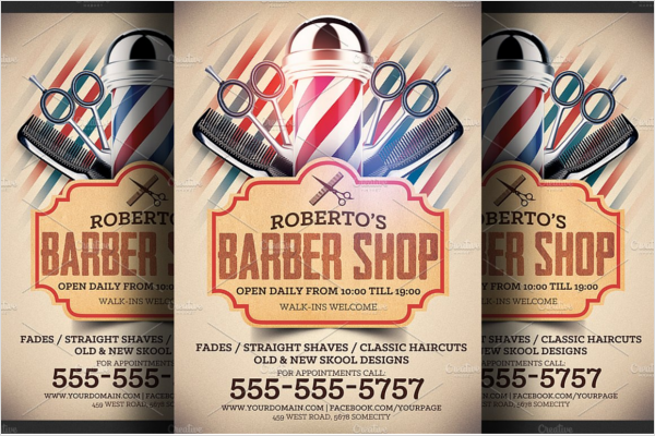 Salon Shop Flyer Design