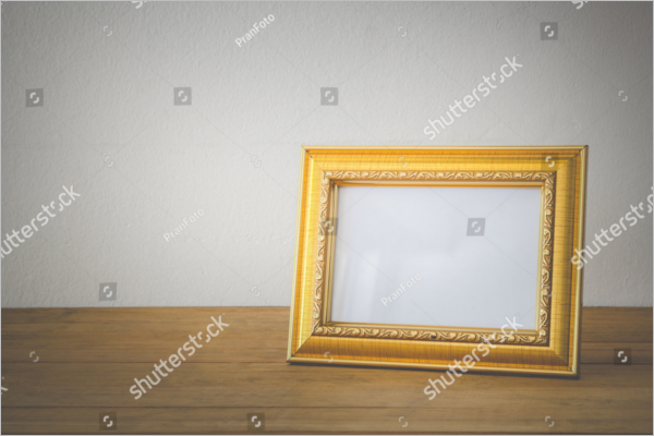 Sample Antique Photo Frame Design