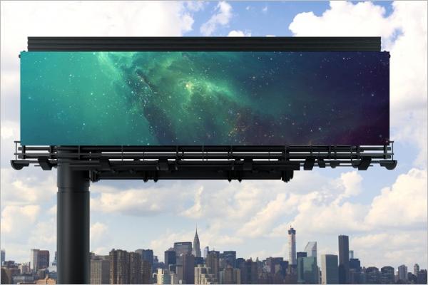 Sample Billboard Mock up Design