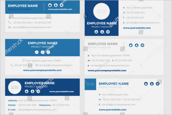 Sample Email Signature Design