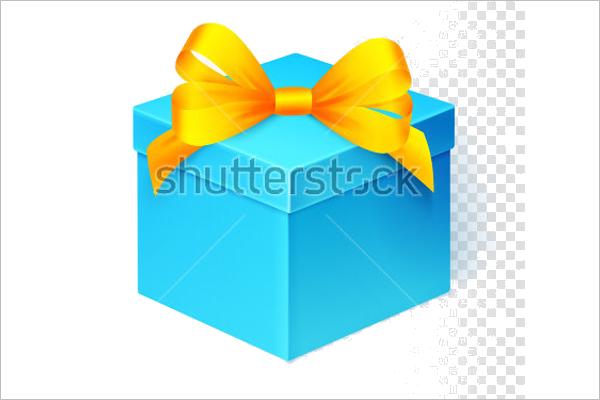 Sample Gift Box Mockup Design