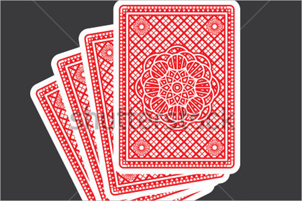 Sample Playing Cards Mock up