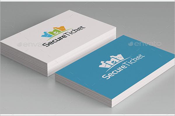 Secure Ticket Mockup Design