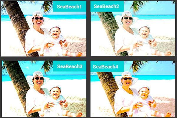 Selfie Photo Filter Template