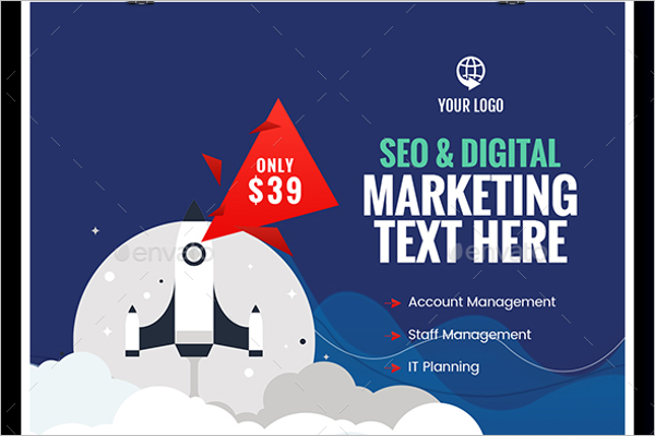 Seo Marketing Banner Template