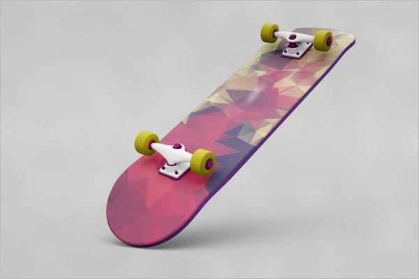 Showcase Skateboard Design