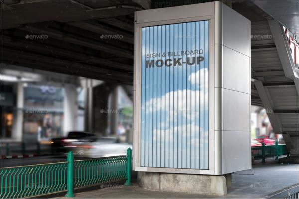 Signage Mockup PSD Design
