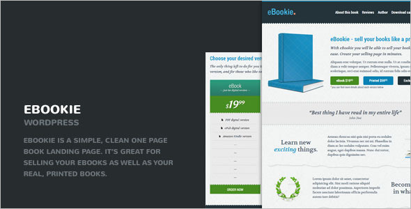 Simple Book Store WordPress Theme