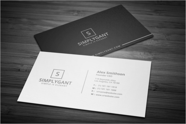 Artist Business Card Examples Free Premium PSD Templates - Simple business cards templates