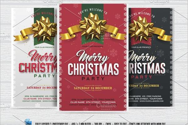 Simple Christmas Facebook Design
