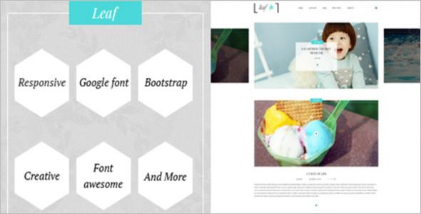Simple Creative WordPress Theme