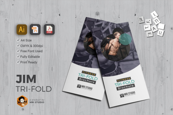 Simple GYM Brochure