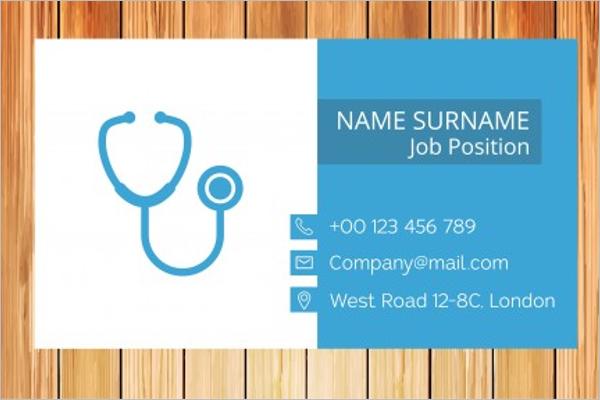 Simple Hospital Business Template