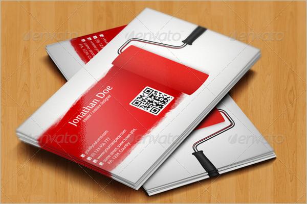 Simple Interior Business card