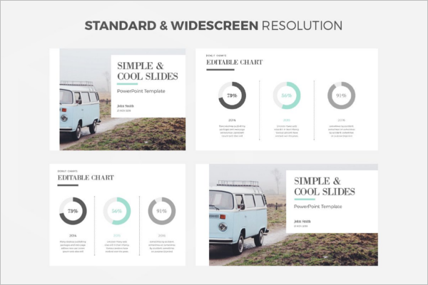 Simple Power Point Presentation Template
