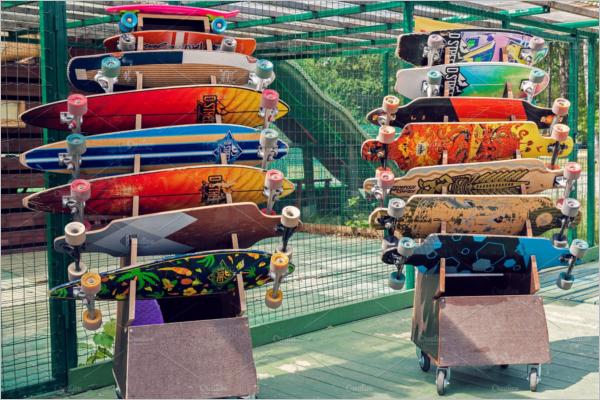 Skateboard Bundle Mockup Design