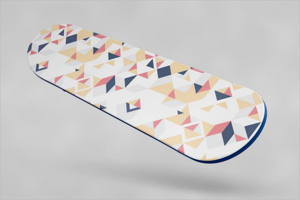Skateboard Product MockUp Template