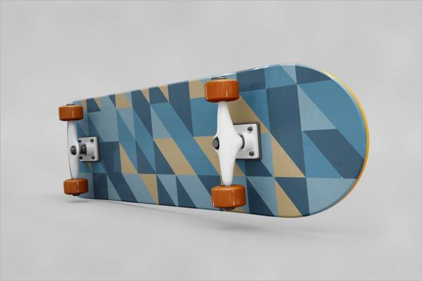 Skateboard Wheel Mockup Template