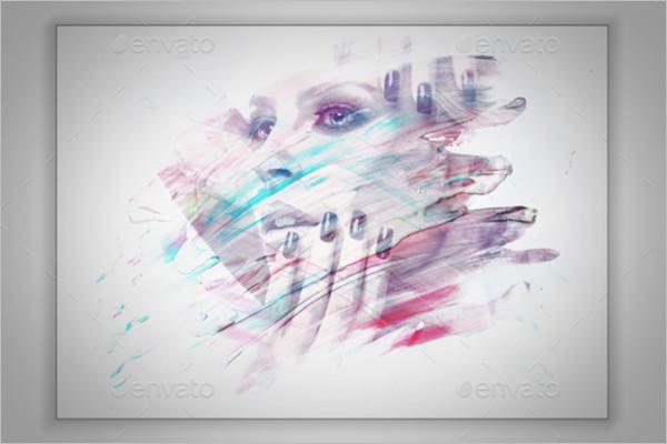 Sketch Photo Frame Design