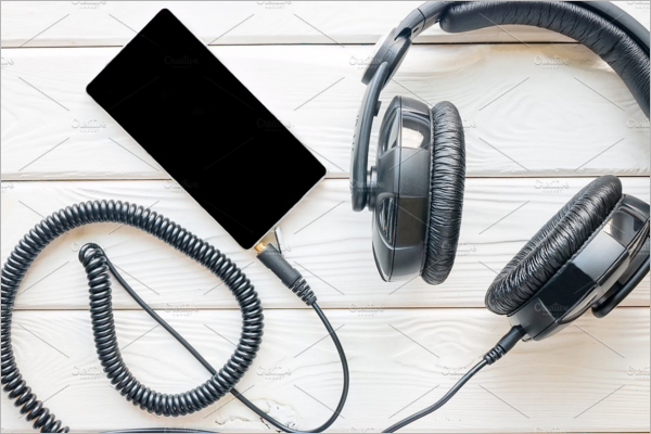 SmartHeadphones Mockup Template