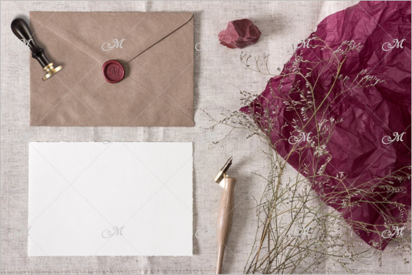 Smart Vintage Envelope Template