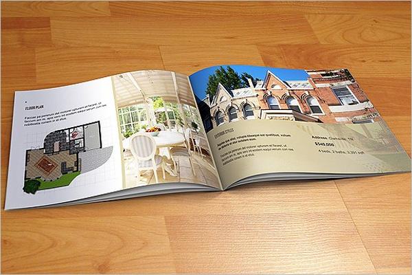Smiple Real Estate Brochure Template