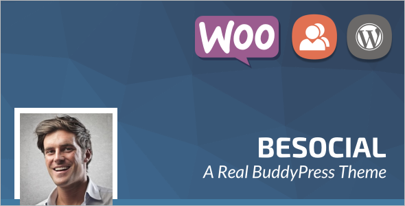 Social Network Community WordPress Theme