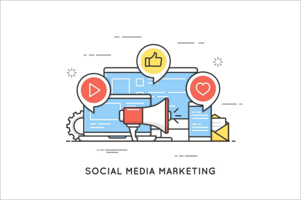 Social media marketing Banner Design