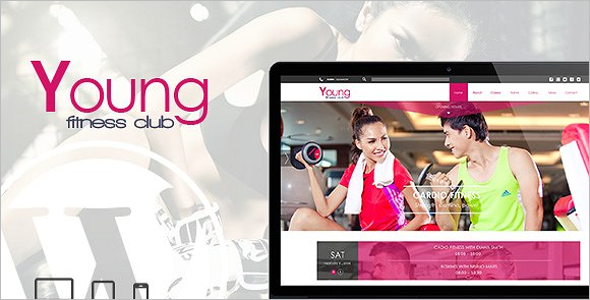 Spa & Fitness Yoga WP Theme