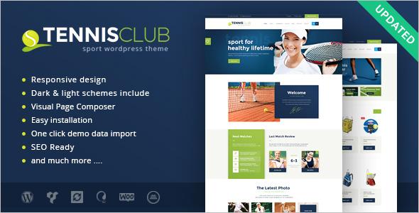 Sport Event WordPress Template