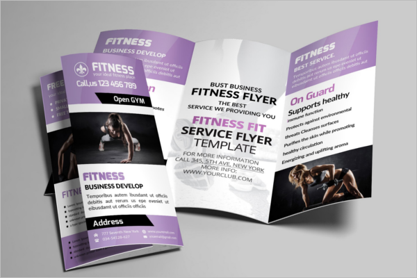 Sport Fitness GYM Brochure