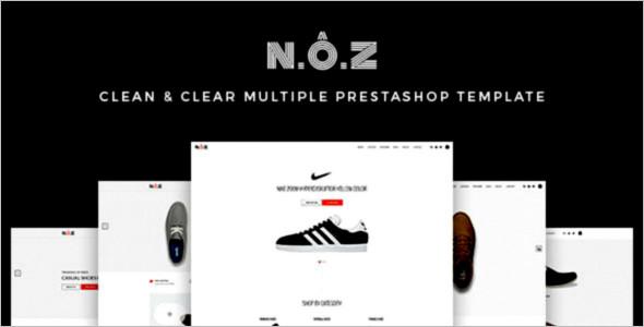 Sports Shoe PrestaShop Template