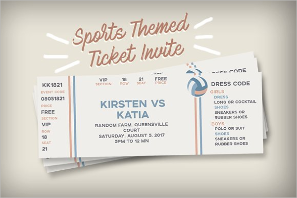 40 Event Ticket Templates Free Premium – Sports Ticket Template